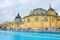 Station thermale de bain de szechenyi de budapest hungary Photo libre de droits