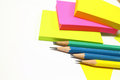 Stationary for office work and art work Royalty Free Stock Photography