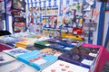 Stationary Shop with Office Supplies Royalty Free Stock Photo