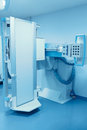 Stationary x ray machine the modern medical equipment Stock Photo