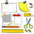 Stationery Stock Photo