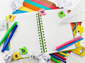 Stationery background. Stock Image