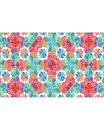 Stationery Background with Colouful Decorated Borders Royalty Free Stock Photo