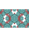Stationery Background with Decorated Borders Royalty Free Stock Photo