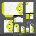 Stationery design set Royalty Free Stock Photos