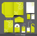 Stationery design set Royalty Free Stock Photography