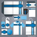 Stationery design set. Royalty Free Stock Photo