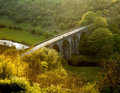 Stationnement national de district maximal de l'Angleterre Derbyshire Images libres de droits