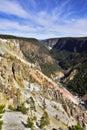 Stationnement national de Yellowstone Photo libre de droits