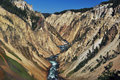 Stationnement national de Yellowstone Images libres de droits