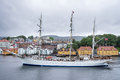 STATSRAAD LEHMKUHL in Bergen, Norway Royalty Free Stock Photo