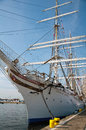 Statsraad Lehmkuhl in Szczecin, Poland Royalty Free Stock Photo