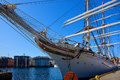 Statsraad Lehmkuhl tall sailing ship Royalty Free Stock Photo