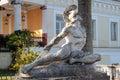 Statua Achille sofferente Royalty Free Stock Photo