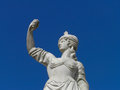 Statue аncient of a woman Royalty Free Stock Photos