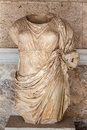 Statue in Ancient Agora Athens Royalty Free Stock Image