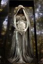 Statue Of Ancient Angel On Cem...