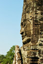 Statue at Angkor Wat Royalty Free Stock Photography
