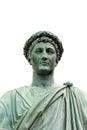 Statue of armand emmanuel sophie septimanie de vignerot du plessis duke richelieu in a roman toga and laurel wreath odessa Stock Image