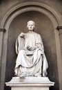 Statue of Arnolfo di Cambio Stock Photography