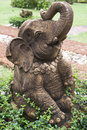 Statue of Asian elephant Royalty Free Stock Photo