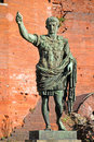 Statue of Augusto Roman Emperor Royalty Free Stock Photo