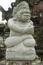 Statue of balinese demon indonesia in ubud Royalty Free Stock Image
