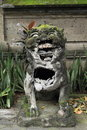 Statue of Balinese Hindu god Royalty Free Stock Photo