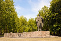 Statue of belarusian writer janka kupala a great in minsk belarus Royalty Free Stock Image