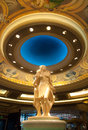 Statue in bellagio hotel in las vegas interior usa photo taken Stock Photos