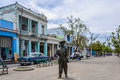 Statue of Benny More in Cienfuegos, Cuba Royalty Free Stock Photo