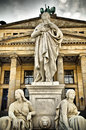 Statue in berlin historical center of Royalty Free Stock Photography