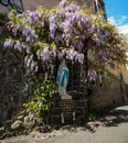 Statue of  Blessed Virgin Mary, Mother of Jesus Royalty Free Stock Photo