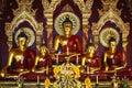 Statue of Buddha Sitting Royalty Free Stock Photo