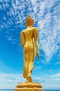 Statue of buddhism at beach in thailand Stock Photography