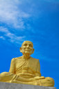 Statue of  Buddhist monks Stock Image