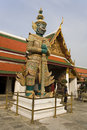 Statue at Buddhist temple Stock Image