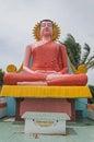 A Statue Of A Budhha