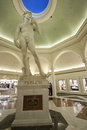 Statue in Caesars Palace hotel Royalty Free Stock Images