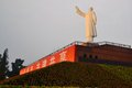 Statue of china s former chairman mao zedong a in chengdu Stock Photography