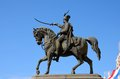 Statue of croatia ban josip jelacic on horse in zagreb main square march a s or viceroy the city s named after him he was Stock Images