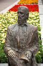 Statue of croatian poet luka botic djakovo croatia june in djakovo croatia Royalty Free Stock Photo