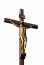 Statue of the crucifixion Stock Photo