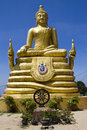 Statue d'or de Bouddha Images stock