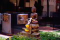 Statue de Songkran Bouddha Photos stock