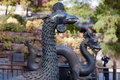 Statue of Dragon in Royal Summer Palace Royalty Free Stock Photo