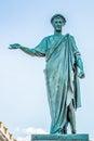 Statue of the Duke Richelieu. Odessa, Ukraine Royalty Free Stock Photo