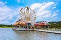Statue of eighteen arms buddha cundi bodhisattva part temple complex wat plai laem on samui island thailand koh samui Royalty Free Stock Photos