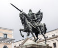 Statue of El Cid in Burgos, Spain Royalty Free Stock Photo