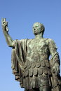 Statue of emperor Nerva Royalty Free Stock Photo